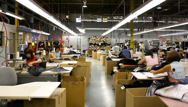 canada goose factory toronto location