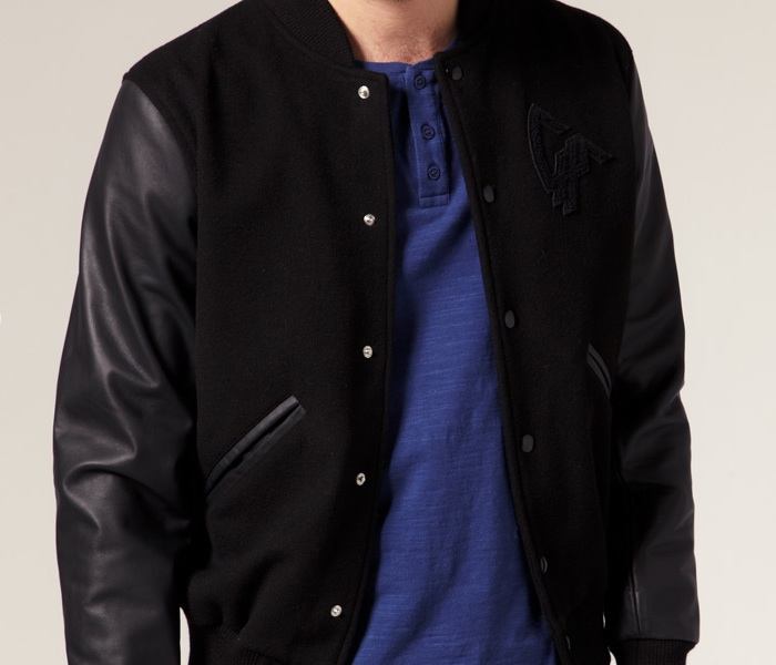 All Black Baseball Jacket - JacketIn