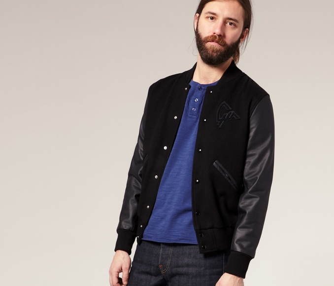 All Black Baseball Jacket - Coat Nj