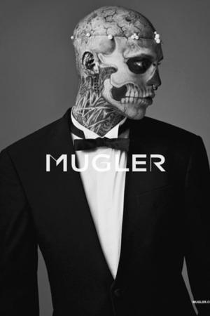 Rick Genest for Mugler Nicola Formichetti Lady Gaga