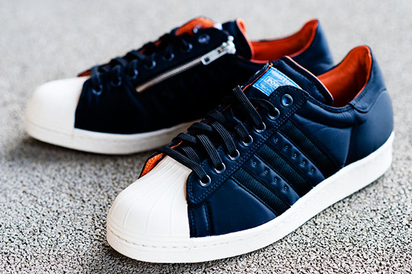 The BAPE x NEIGHBORHOOD x adidas Originals Superstar BOOST