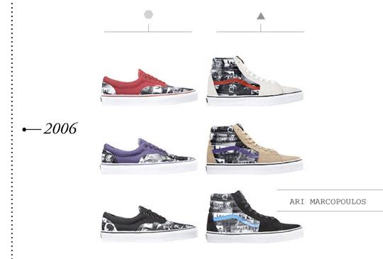 vans history shoes