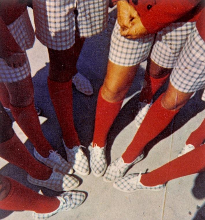 Quadriculados: tendência entre os jovens na década de 80