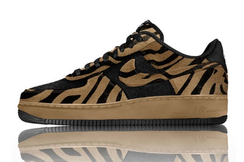 Nike Air Force One Animal Print 1