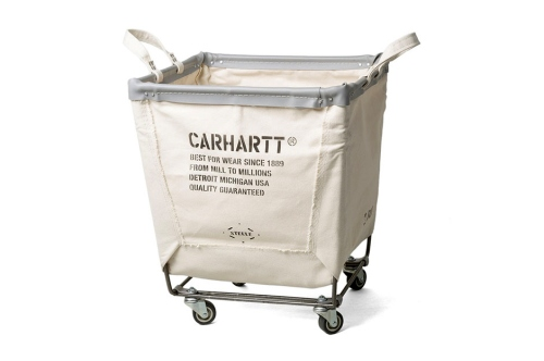 carhartt steele canvas laundry cart | the style raconteur