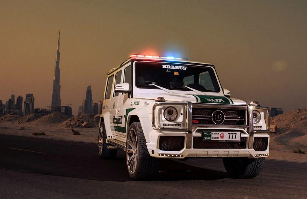 Dubai Police Brabus G63 Amg The Style Raconteur