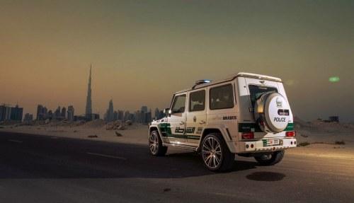Dubai-Police-Brabus-G63-AMG-4