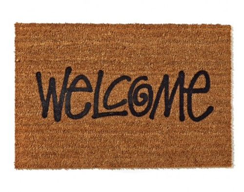 Stussy Welcome Door Mat | The Style Raconteur