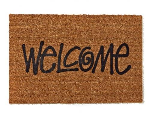Stussy Welcome Door Mat | The Style Raconteur