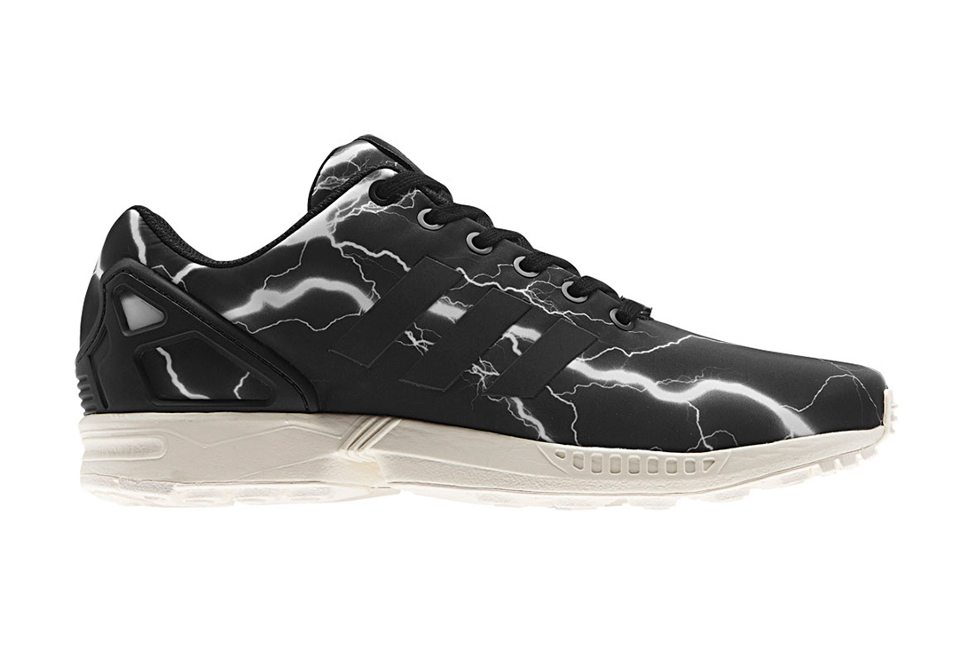 Adidas Zx Flux Lightning Bolt