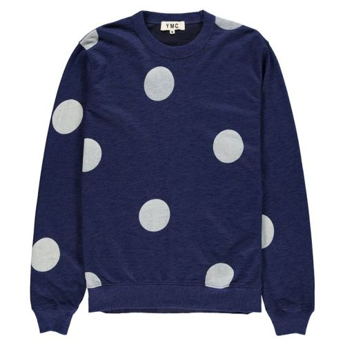 YMC Dot Sweat | The Style Raconteur