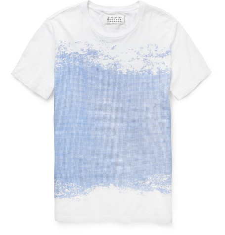 Margiela Flocked T-shirt