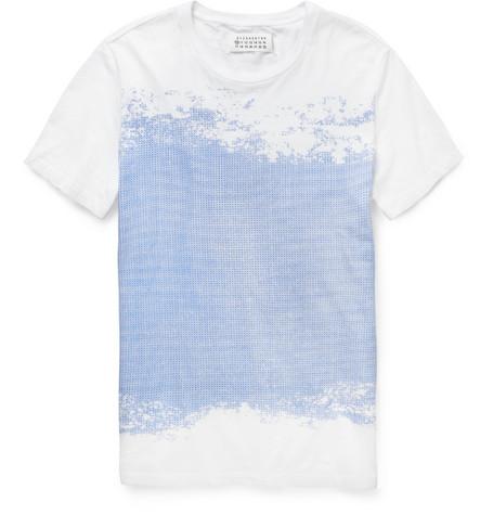 Margiela Flocked T-shirt