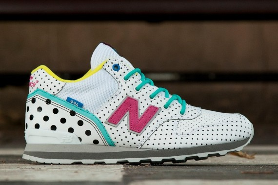 new balance 501 polka dot