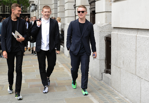 London Collections Men Spring Summer 2015 Street Style The Style Raconteur