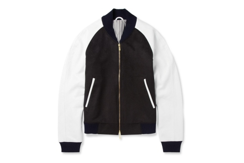 thom-browne-leather-sleeved-cashmere-bomber-jacket-1