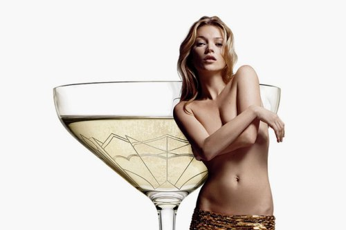 Kate Moss's Breast Champagne Glass | The Style Raconteur