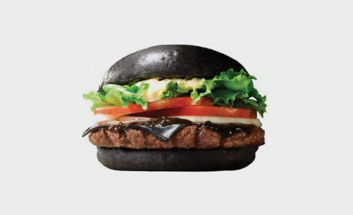 Burger King Black Cheeseburger | The Style Raconteur
