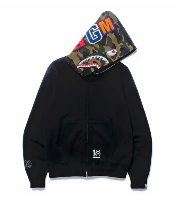 f3ed28c3005c A Bathing Ape Shark Hoody 10th Anniversary